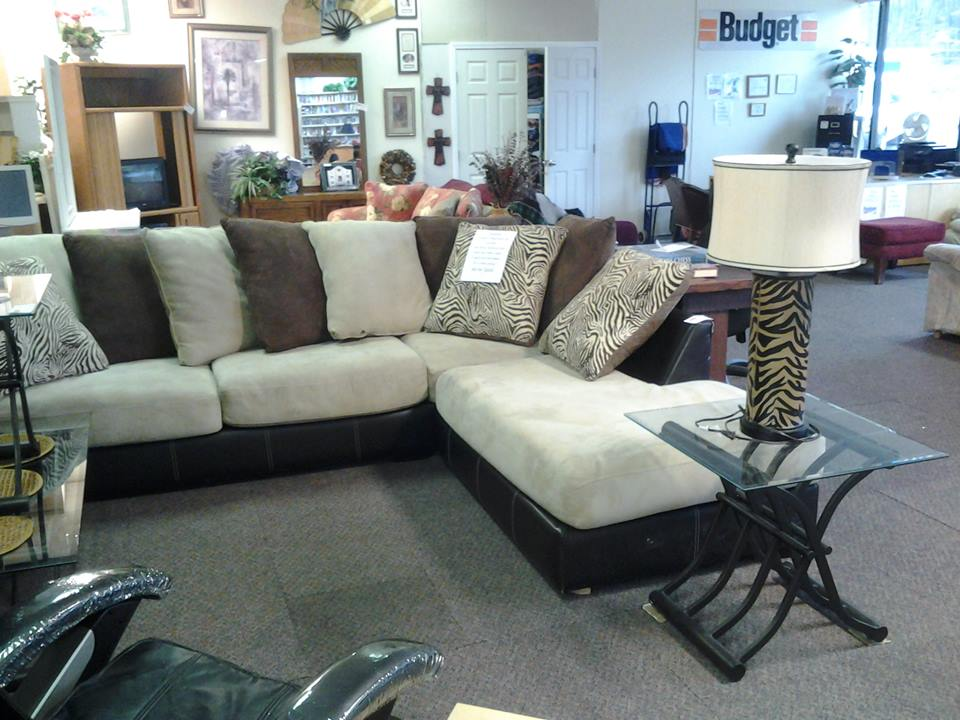 Two Tone Chaise Sectional